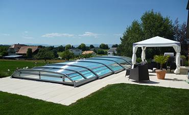 Abri de piscine et de Spa à Voiron - Vente et installation