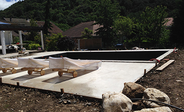 Construction de piscine sur mesure à Voiron